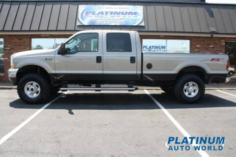 2003 Ford F-250 Super Duty for sale at Platinum Auto World in Fredericksburg VA