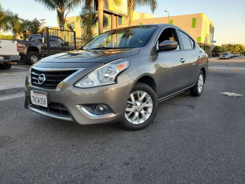 2016 Nissan Versa for sale at GENERATION 1 MOTORSPORTS #1 in Los Angeles CA