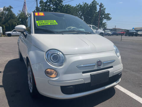 2015 FIAT 500c for sale at Low Price Auto and Truck Sales, LLC in Salem OR