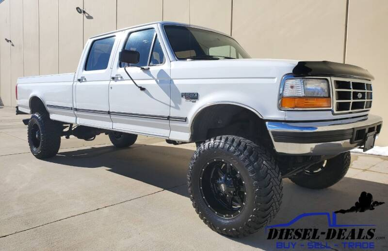 1996 Ford F-350 for sale at DIESEL DEALS in Salt Lake City UT