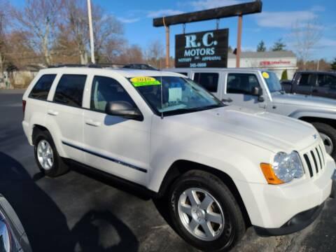 2010 Jeep Grand Cherokee for sale at R C Motors in Lunenburg MA