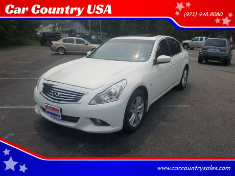 2015 Infiniti Q40 for sale at Car Country USA in Augusta NJ