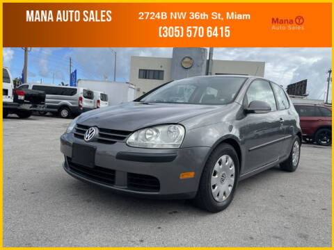 2009 Volkswagen Rabbit for sale at MANA AUTO SALES in Miami FL