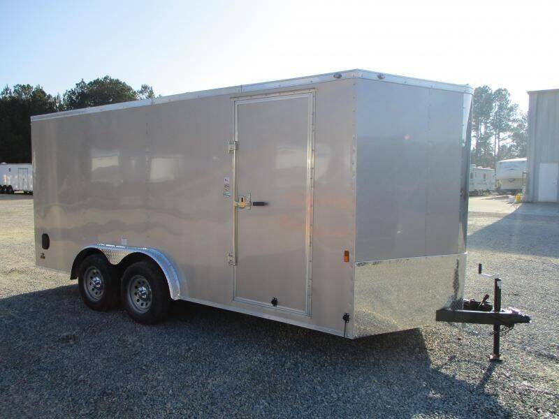 2021 Continental Cargo Sunshine 7.5x16 Vnose for sale at Vehicle Network - Barnes Equipment in Sims NC