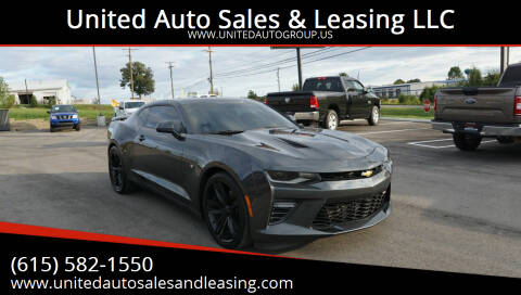 2016 Chevrolet Camaro for sale at United Auto Sales & Leasing LLC in La Vergne TN