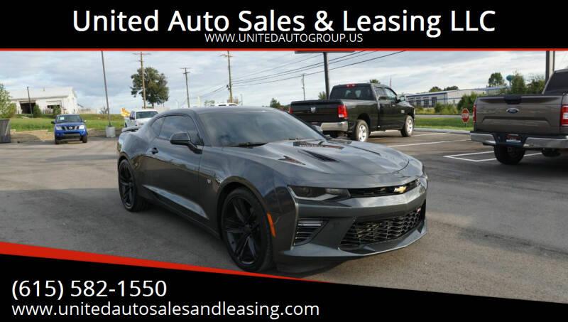 2016 Chevrolet Camaro for sale at United Auto Sales & Leasing LLC in La Vergne TN