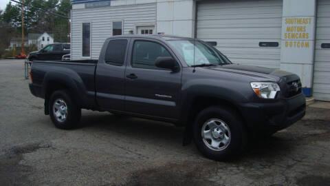 2015 Toyota Tacoma for sale at Southeast Motors INC in Middleboro MA