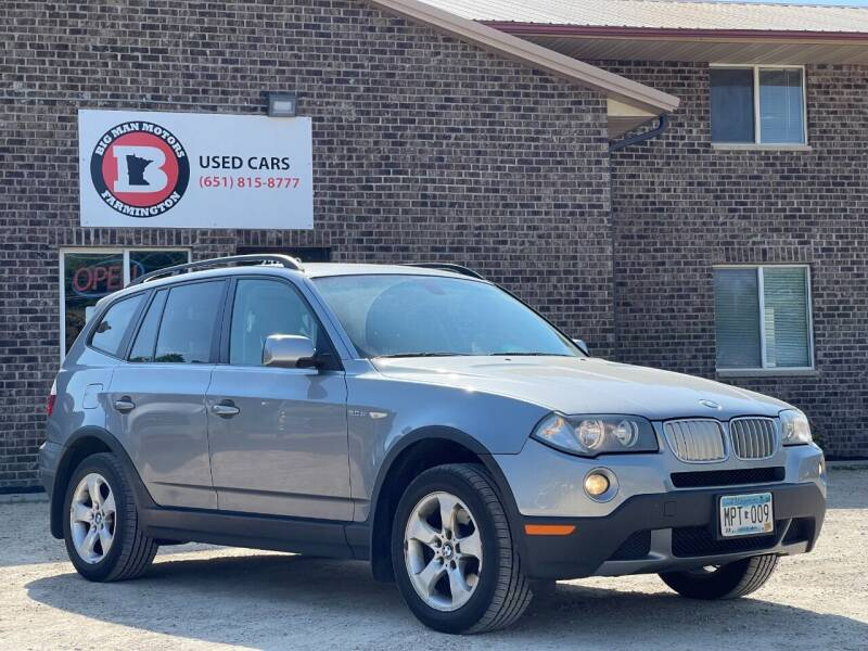 2007 BMW X3 for sale at Big Man Motors in Farmington MN