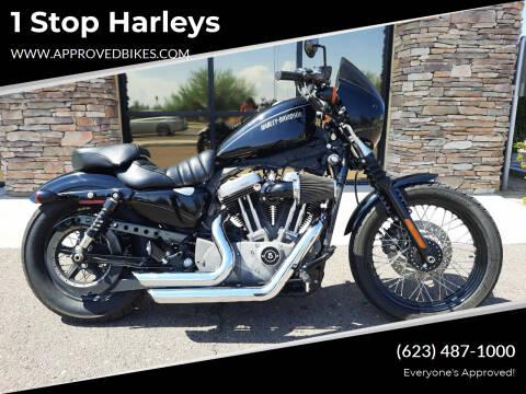 2011 Harley-Davidson Nightster XL1200N for sale at 1 Stop Harleys in Peoria AZ