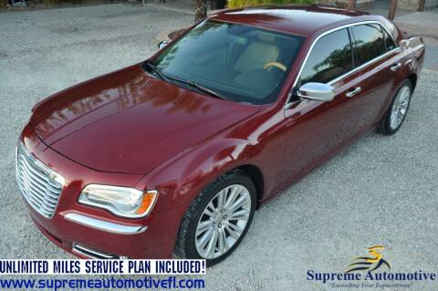 2014 Chrysler 300 for sale at Supreme Automotive in Land O Lakes FL