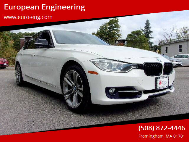 2014 BMW 3 Series for sale at European Engineering in Framingham MA