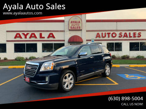 2017 GMC Terrain for sale at Ayala Auto Sales in Aurora IL