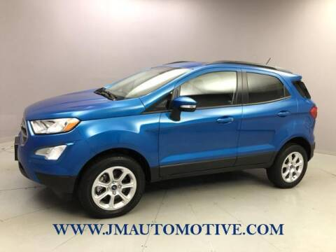 2019 Ford EcoSport for sale at J & M Automotive in Naugatuck CT