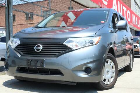 2016 Nissan Quest for sale at HILLSIDE AUTO MALL INC in Jamaica NY
