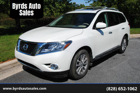 2015 Nissan Pathfinder for sale at Byrds Auto Sales in Marion NC
