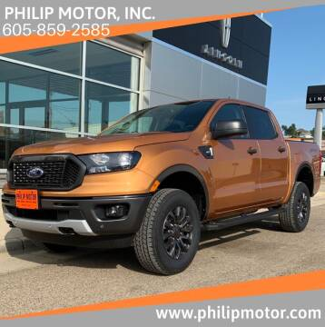 2019 Ford Ranger for sale at Philip Motor Inc in Philip SD