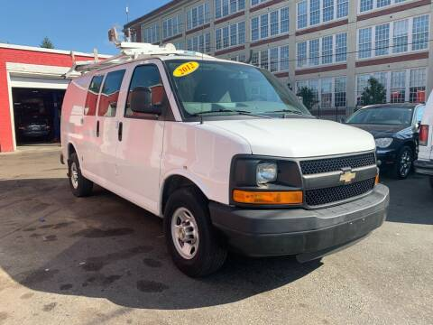 2012 Chevrolet Express Cargo for sale at Mass Auto Exchange in Framingham MA