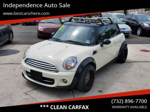 2012 MINI Cooper Hardtop for sale at Independence Auto Sale in Bordentown NJ