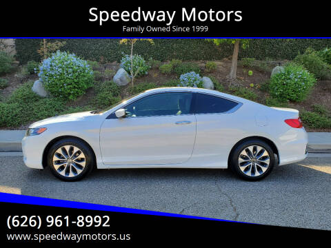 2014 Honda Accord for sale at Speedway Motors in Glendora CA