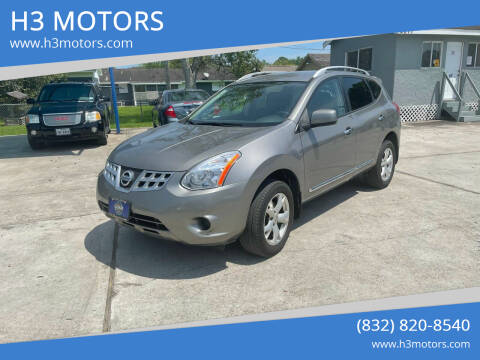 2011 Nissan Rogue for sale at H3 MOTORS in Dickinson TX
