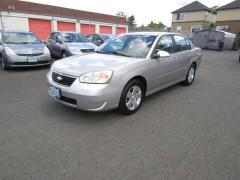 2006 Chevrolet Malibu for sale at ARISTA CAR COMPANY LLC in Portland OR