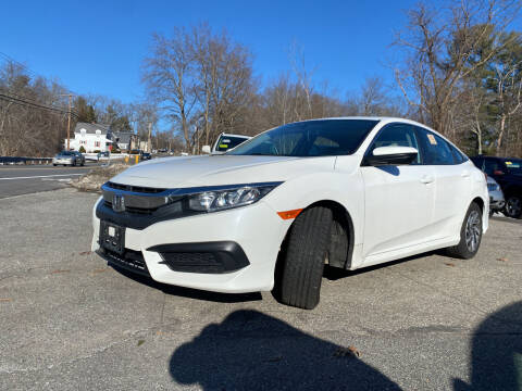 2016 Honda Civic for sale at Royal Crest Motors in Haverhill MA