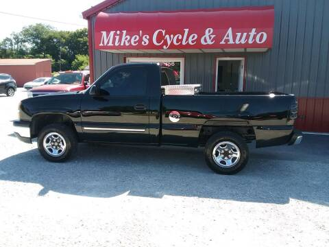 2004 Chevrolet Silverado 1500 for sale at MIKE'S CYCLE & AUTO in Connersville IN