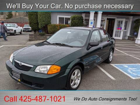 1999 Mazda Protege for sale at Platinum Autos in Woodinville WA