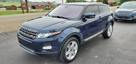 2013 Land Rover Range Rover Evoque Coupe for sale at Gallia Auto Sales in Bidwell OH