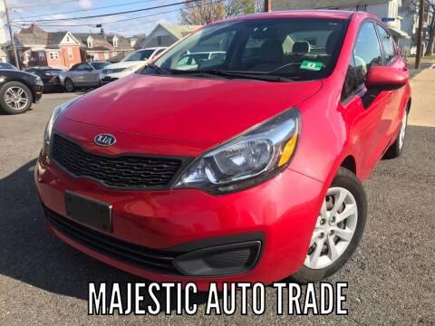 2012 Kia Rio for sale at Majestic Auto Trade in Easton PA