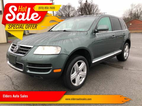 2004 Volkswagen Touareg for sale at Elders Auto Sales in Pine Bluff AR