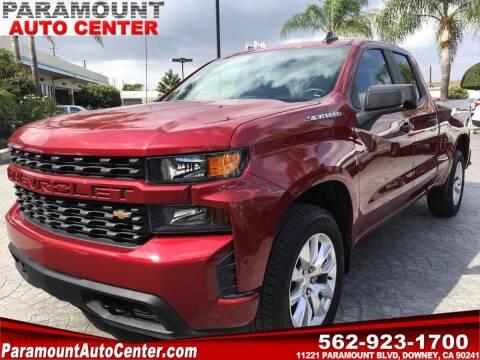 2020 Chevrolet Silverado 1500 for sale at PARAMOUNT AUTO CENTER in Downey CA