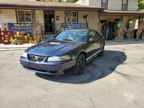 2002 Ford Mustang for sale at BIG #1 INC in Brownstown MI