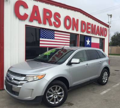 2011 Ford Edge for sale at Cars On Demand 3 in Pasadena TX
