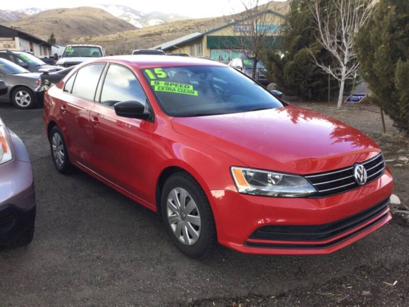 2015 Volkswagen Jetta for sale at Small Car Motors in Carson City NV