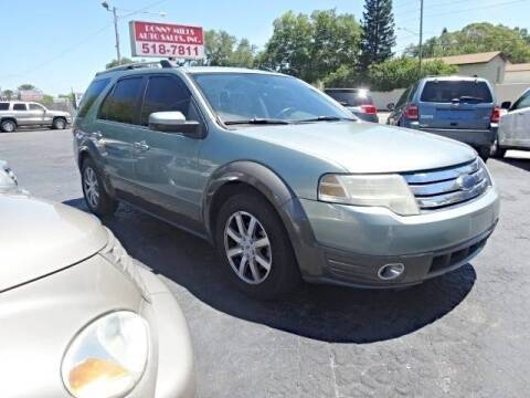 2008 Ford Taurus X for sale at DONNY MILLS AUTO SALES in Largo FL