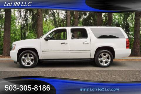 2013 Chevrolet Suburban for sale at LOT 99 LLC in Milwaukie OR