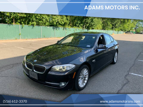 2011 BMW 5 Series for sale at Adams Motors INC. in Inwood NY