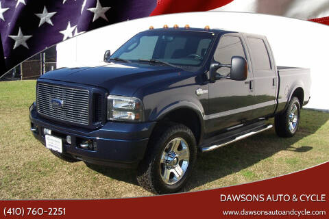 2005 Ford F-250 Super Duty for sale at Dawsons Auto & Cycle in Glen Burnie MD