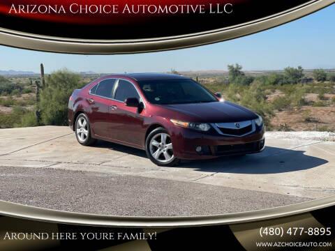 2010 Acura TSX for sale at Arizona Choice Automotive LLC in Mesa AZ