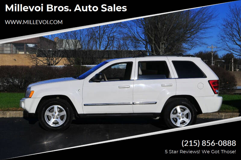 2006 Jeep Grand Cherokee for sale at Millevoi Bros. Auto Sales in Philadelphia PA