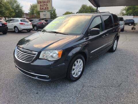 2014 Chrysler Town and Country for sale at DON BAILEY AUTO SALES in Phenix City AL