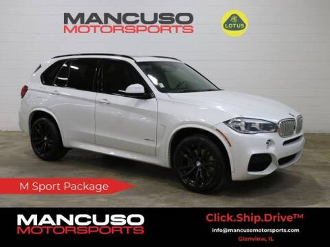 2017 BMW X5 for sale at Mancuso Motorsports in Glenview IL