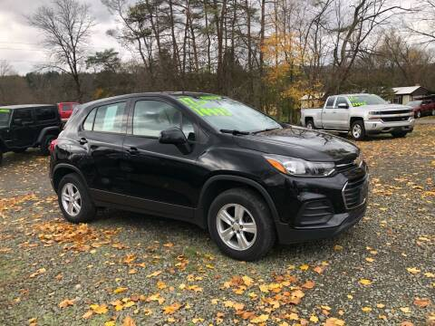2017 Chevrolet Trax for sale at Brush & Palette Auto in Candor NY