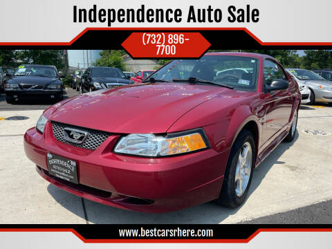 2003 Ford Mustang for sale at Independence Auto Sale in Bordentown NJ