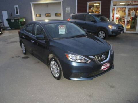 2016 Nissan Sentra for sale at Percy Bailey Auto Sales Inc in Gardiner ME