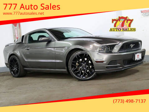 2014 Ford Mustang for sale at 777 Auto Sales in Bedford Park IL