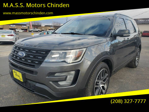 2016 Ford Explorer for sale at M.A.S.S. Motors Chinden in Garden City ID