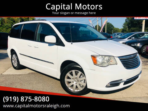 2016 Chrysler Town and Country for sale at Capital Motors in Raleigh NC