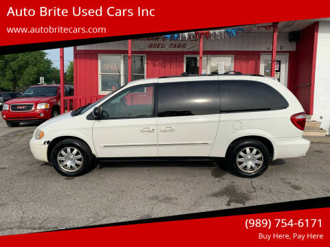 2007 Chrysler Town and Country for sale at Auto Brite Used Cars Inc in Saginaw MI